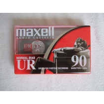 Audio Cassette Maxell Ur 90 Minutos Tipo I Normal