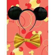 Disfraz Mickey Mouse Frac De Lujo