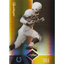 2004 Leaf Limited Gold Spotlight Retired Don Shula /25 Colts