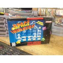 Space Invaders Super Nintendo Snes