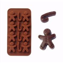 Molde Navideño Baston Hielos Chocolate Crayola Dulce Gomita