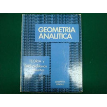 Joseph H. Kindle, Geometría Analítica, Mcgraw-hill, México,