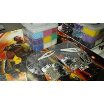 Kit Multiple 4 Perler, Hama, Pixel Art 2 Bases, Pinzas