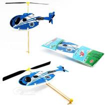 Guillows Set 3 Helicopteros Liga Vuelo Libre Fomi Balsa