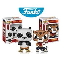 Kung Fu Panda Po Tigresa Set Funko Pop Abbastanza