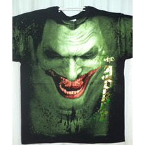 Playera The Jocker Fluorecente Dc Comics!!!
