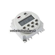 Temporizador 12 V Para 17 Programas Encendido /apagado Panel