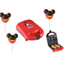 Diney Mickey Maquina Mini Cake Pops Paleta Hotcake