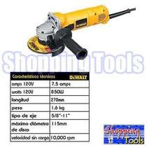 Dewalt D28111 Miniesmeriladora 4 1/2 Industrial 850 W Vbf