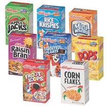 Cereales De Kellogg Variety Pack Individual Servir Cajas (pa