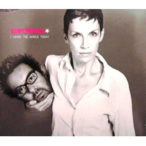 Eurythmics - I Save The World Today Single Importado Eu