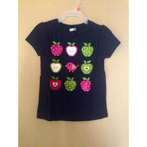 Blusa Camiseta Crazy 8 Americana Niña T5 Envio Gratis