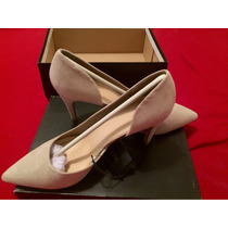 Tacones Forever 21 Color Nude