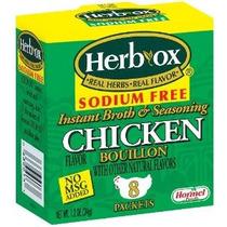 Hierba-ox Bouillon Paquetes De Pollo Instantáneo Caldo Y Con
