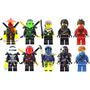 Set Sw9 De Ninjago Kai Zane Lloyd Compatibles Con Lego