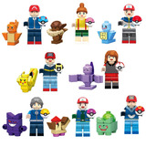 Set Pokemon Go Y Pokebolas Ash Pikachu Compatible Con Lego