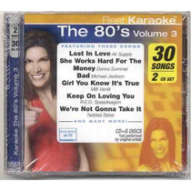 Karaoke The 80´s Vol. 3 (2 Cd) Nuevos En Remate