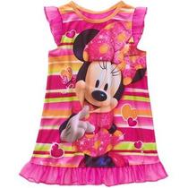 Pijama Vestido Disney Minnie Niña T 24 Meses Envio Gratis