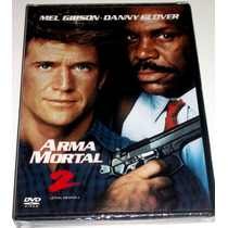 Dvd: Arma Mortal 2 (1989) Mel Gibson, Danny Glover!! Mdn