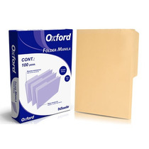 Folder Crema Tamaño Oficio Folder Manila Oxford Esselte Ess-