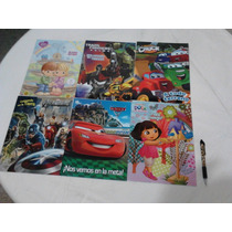 Libros Para Colorear Menudeo $12 Mayoreo $9 Tam Carta Vbf