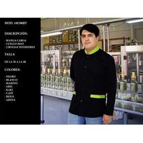 Bata De Trabajo Industrial Caballero ( Uniformes Deluxor )