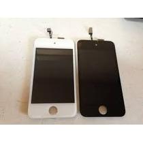 Pantalla Touch Digitalizadora + Lcd Ipod 4g Blanco Negro