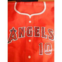 Maletin Jersey Anaheim Angels Oc Parks Mlb Baseball Sports