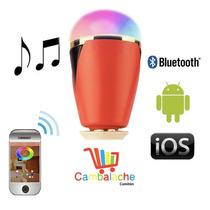 Foco Led Ambientador Controla Celular Con Audio Por Blueooth