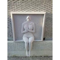 Fuente Muro Llorón Con Escultura 3d