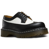 Zapato Hombre 3989 Bex Black+white Smooth N/b Dr Martens