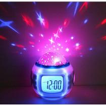 Novedosa Lampara Despertado Reloj Termometro Audio Relajante