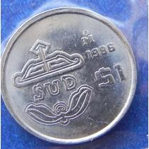 Moneda $1 Peso Sud 1986 Prueba Muy Escasa S/circular