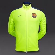 Chamarra Trackjacket N98 Barcelona Fosforescente 2015 Nike