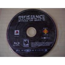 Juego Play Station 3 Ps3 Resistence Fall Of Man Disco Mdn