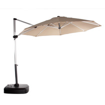 Sombrilla De 3.00 Poste Lateral Con Tela Sunbrella Uso Rudo