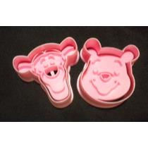 Cortadores 3 D Con Figuras De Disney Y Hello Kitt