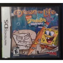 Videojuego, Nintendo Ds, Spongebob, Drawn To Life