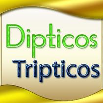 Millar De Folletos Publicitarios Tripticos Y De Bipticos Nf4