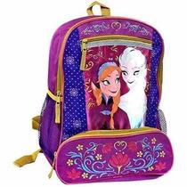 Mochila Disney Congelado Elsa Y Anna Mochila - Folclore