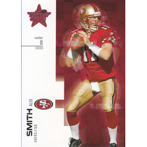 2007 Leaf Rookies & Stars Alex Smith Qb 49ers