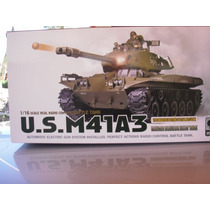 Tanque M41 A3 Bulldog Radio Control 1/16, Humo Y Disparo