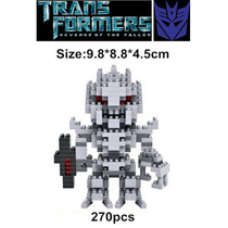 Figuras Para Armar Con Bloques De Plastico De Galvatron