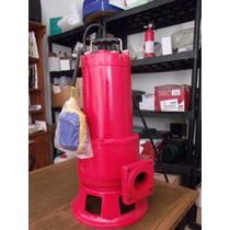 Bomba Trituradora Para Aguas Residuales 1.5 Hp. Tecnobombas