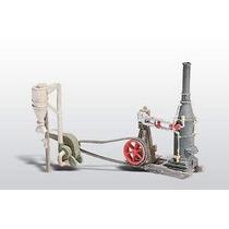 Maquina De Vapor Y Martillo / Woodland Scenics Esc. Ho