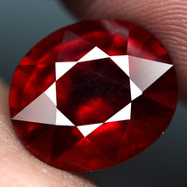 Excelente Rubi Sangre De Pichon .71 Quilates