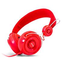 Audifonos Diadema Manos Libres Microfono Vorago Hp-205 Rojo