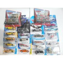 Lote 21 Carritos Varios Hot Wheels Ferrari Batmobile Cars