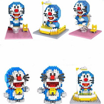 Set De 3 Figuras Armable Doraemon