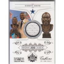 2011 Nt Emblems Hall Hof Jersey Emmitt Smith 16/99 Cowboys